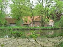 Watermolen Frans in Mander